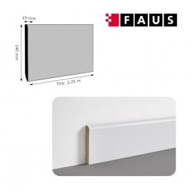 Rodapié Faus Lacado Blanco 140 X 15 mm