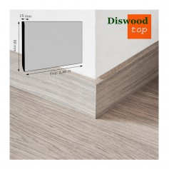 Rodapié Parquet Diswood Rechapado 90x15