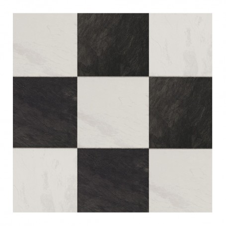 INDUSTRY TILES- CHESS BLACK