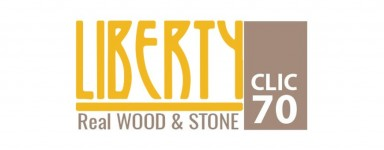 LIBERTY CLIC - REAL WOOD & STONE 70