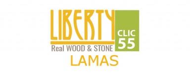 LIBERTY CLIC REAL WOOD & STONE 55 - LAMAS