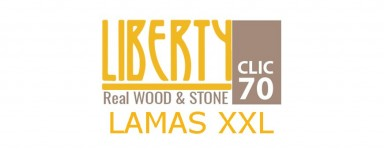 LIBERTY CLIC REAL WOOD & STONE 70 - LAMAS XXL